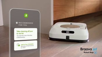 iRobot Braava Jet M6 TV Spot, 'Goodbye Cleaning, Hello Clean' - Thumbnail 7