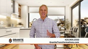 Granite Transformations TV Spot, 'Off-Time: New Kitchen Sink for the Holidays'