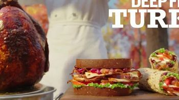 Arby's Deep Fried Turkey TV Spot, 'Dry and Underwhelming' Song by YOGI - Thumbnail 5