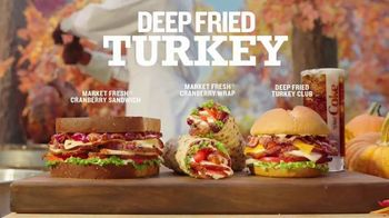 Arby's Deep Fried Turkey TV Spot, 'Dry and Underwhelming' Song by YOGI - Thumbnail 7