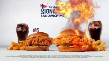 Zaxby's Signature Sandwich Meal TV Spot, 'We're Going Big' - Thumbnail 9