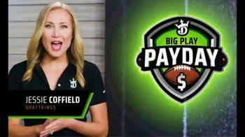 DraftKings Big Play Payday TV Spot, 'Ending NFL Week Eight' - Thumbnail 1