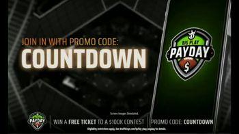 DraftKings Big Play Payday TV Spot, 'Ending NFL Week Eight' - Thumbnail 6