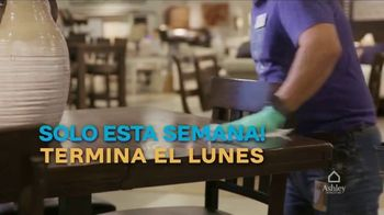 Ashley HomeStore TV Spot, 'Dos días más grandes para ahorrar: extendidos' [Spanish] - Thumbnail 8