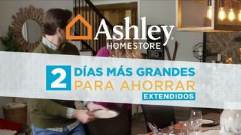 Ashley HomeStore TV Spot, 'Dos días más grandes para ahorrar: extendidos' [Spanish] - Thumbnail 1