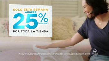 Ashley HomeStore TV Spot, 'Dos días más grandes para ahorrar: extendidos' [Spanish] - Thumbnail 3