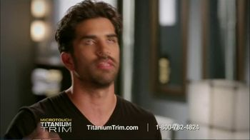 MicroTouch Titanium Trim TV Spot, 'If You Can Comb It, You Can Cut It' - Thumbnail 8