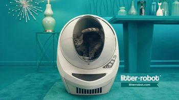 Litter-Robot TV Spot, 'Never Scoop Cat Litter Again: Free Shipping'