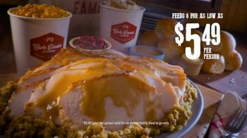 Bob Evans Restaurants Hand-Carved Turkey TV Spot, 'Nothing Says Supper: Family Meal' - Thumbnail 8