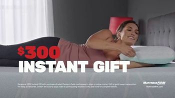 Mattress Firm TV Spot, 'Rest Assured Promise: $300 Instant Gift With Tempur-Pedic Purchase' - Thumbnail 5