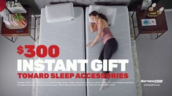 Mattress Firm TV Spot, 'Rest Assured Promise: $300 Instant Gift With Tempur-Pedic Purchase'