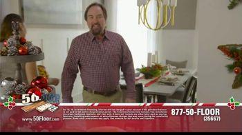 50 Floor 60% Off Sale TV Spot, 'Holidays: Save an Extra $100' Featuring Richard Karn - Thumbnail 1