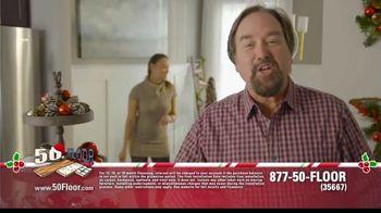 50 Floor 60% Off Sale TV Spot, 'Holidays: Save an Extra $100' Featuring Richard Karn - Thumbnail 2