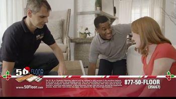 50 Floor 60% Off Sale TV Spot, 'Holidays: Save an Extra $100' Featuring Richard Karn - Thumbnail 3