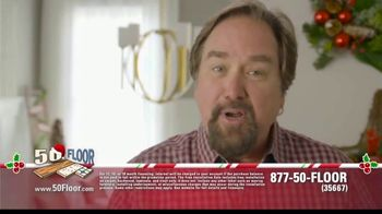 50 Floor 60% Off Sale TV Spot, 'Holidays: Save an Extra $100' Featuring Richard Karn