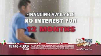 50 Floor 60% Off Sale TV Spot, 'Holidays: Save an Extra $100' Featuring Richard Karn - Thumbnail 6