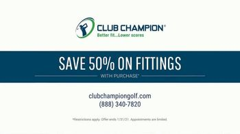 Club Champion TV Spot, 'Save 50% On Tour-Quality Fitted Clubs' - Thumbnail 10