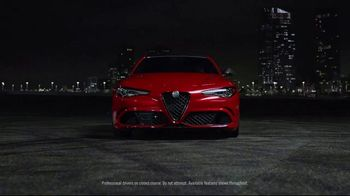 Alfa Romeo TV Spot, 'Control' Song by Emmit Fenn [T1] - 39 commercial airings