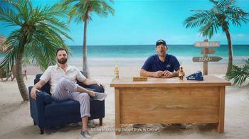 Corona Extra TV Spot, 'Long Season' Featuring Tony Romo - Thumbnail 1