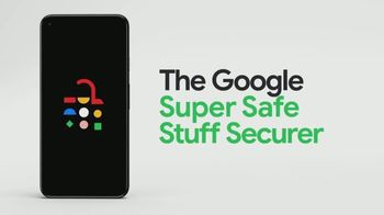 Google Pixel 5 TV Spot, 'The Super Safe Stuff Securer: $599'