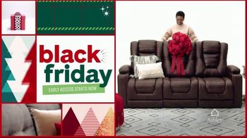 Ashley HomeStore Black Friday Early Access Sale TV Spot, '50% Off and Five Years No Interest' - 4 commercial airings