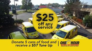 One Hour Heating & Air Conditioning Season of Giving TV Spot, '$57 Tune-Up' - Thumbnail 9