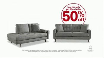 Ashley HomeStore Black Friday Early Access Sale TV Spot, 'Buy One Get One 50% Off' - Thumbnail 5