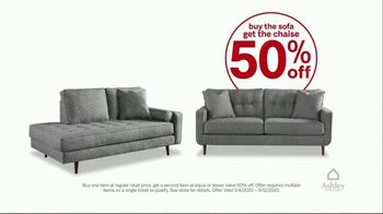 Ashley HomeStore Black Friday Early Access Sale TV Spot, 'Buy One Get One 50% Off' - Thumbnail 6