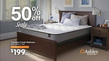 Ashley HomeStore Black Friday Mattress Sale TV Spot, 'Ashley-Sleep and Sealy Essentials' - Thumbnail 4