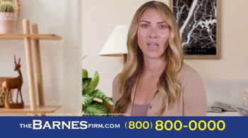 The Barnes Firm TV Spot, 'Didn't Know: 2 Million and 1.4 Million'
