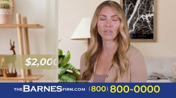 The Barnes Firm TV Spot, 'Didn't Know: 2 Million and 1.4 Million' - Thumbnail 2