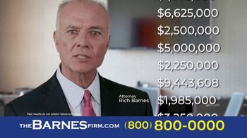 The Barnes Firm TV Spot, 'Didn't Know: 2 Million and 1.4 Million' - Thumbnail 6