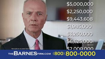 The Barnes Firm TV Spot, 'Didn't Know: 2 Million and 1.4 Million' - Thumbnail 7