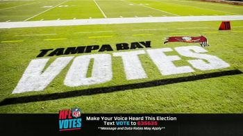NFL TV Spot, 'I Am a Voter' Featuring Bruce Arians, Carlton Davis, Donovan Smith - Thumbnail 8