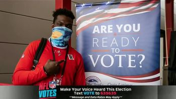 NFL TV Spot, 'I Am a Voter' Featuring Bruce Arians, Carlton Davis, Donovan Smith - Thumbnail 1