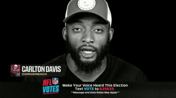 NFL TV Spot, 'I Am a Voter' Featuring Bruce Arians, Carlton Davis, Donovan Smith - Thumbnail 6