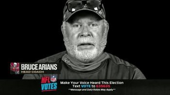 NFL TV Spot, 'I Am a Voter' Featuring Bruce Arians, Carlton Davis, Donovan Smith - Thumbnail 7