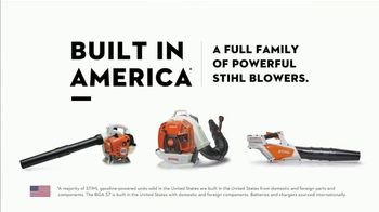 STIHL TV Spot, 'Built in America: Blowers' - Thumbnail 7
