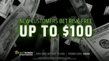 DraftKings Sportsbook TV Spot, 'Living for the Weekend: Bet Risk-Free' - Thumbnail 3