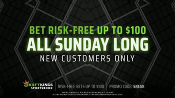 DraftKings Sportsbook TV Spot, 'Living for the Weekend: Bet Risk-Free' - Thumbnail 6