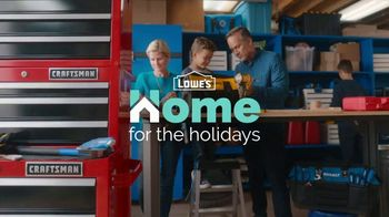 Lowe's TV Spot, Home for the Holidays: Give Back to Home' - Thumbnail 1