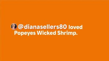 Popeyes Wicked Shrimp TV Spot, '@dianasellers80: Dip It and Pop It' - Thumbnail 1