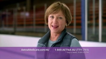 Aetna Medicare Solutions TV Spot, 'Turning 65: $10 Gift Card' Featuring Dorothy Hamill - Thumbnail 4