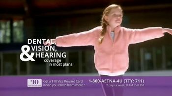 Aetna Medicare Solutions TV Spot, 'Turning 65: $10 Gift Card' Featuring Dorothy Hamill - Thumbnail 5