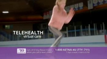 Aetna Medicare Solutions TV Spot, 'Turning 65: $10 Gift Card' Featuring Dorothy Hamill - Thumbnail 6