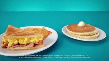 Denny's TV Spot, 'Free Pancakes and Delivery' - Thumbnail 4