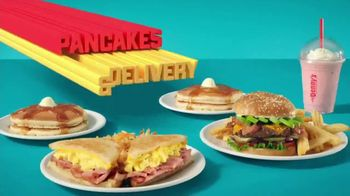 Denny's TV Spot, 'Free Pancakes and Delivery' - Thumbnail 6