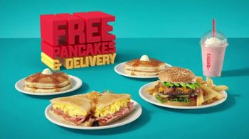 Denny's TV Spot, 'Free Pancakes and Delivery' - Thumbnail 7