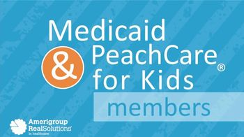 Amerigroup TV Spot, 'Medicaid and PeachCare for Kids'