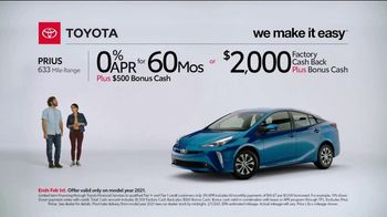 2021 Toyota Prius TV Spot, 'What Do We Have Here: Prius' [T2] - Thumbnail 2